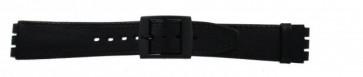 klokkerem for Swatch svart 16mm PVK-SC15.01