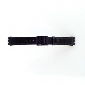 klokkerem for Swatch svart 17mm PVK-SC04.01