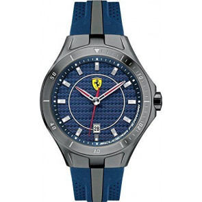 Ferrari klokkerem SF103.7 / 0830081 / SF689300057 / Scuderia Gummi Blå 22mm