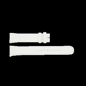 Boccia klokkerem BO3186-01-40W Lær Hvit 19mm + standard sømmer