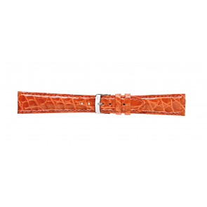 Morellato klokkerem Amadeus G.Croc Glans U0518052086CR22 / PMU086AMADEC22 Krokodille skinn Oransje 22mm + standard sømmer