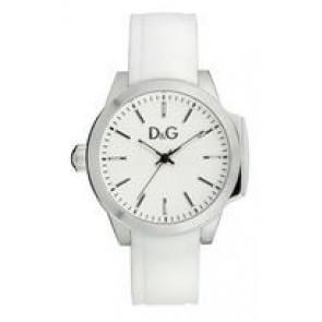 Klokkerem Dolce & Gabbana DW0746 Gummi Hvit 18mm