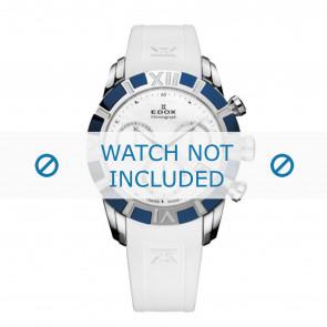 Edox klokkerem 10405-357B-NAIN Silikon Hvit 18mm