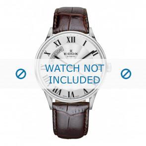 Edox klokkerem 83010-3B-AR Lær Brun mørk + standard sømmer