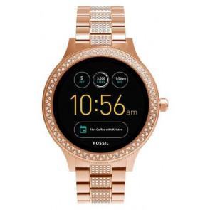 Fossil FTW6008  Q EXPLORIST SMARTWATCH 44MM Digitalt Kvinner Digital Smartwatch