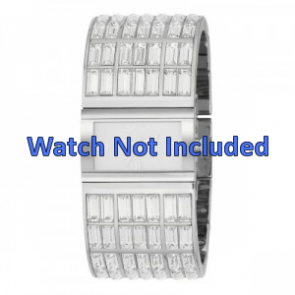 DKNY klokkerem NY-3768 Stål Sølv 20mm