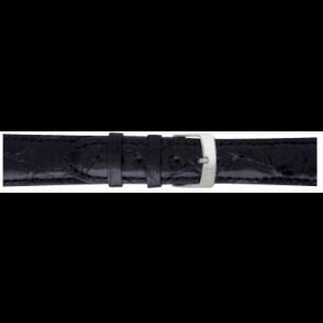 Morellato klokkerem Amadeus XL G.Croc Gl K0518052019CR22 / PMK019AMADEU22 Krokodille skinn Svart 22mm + standard sømmer