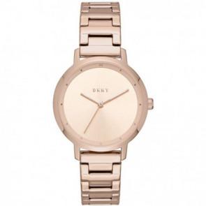 Klokkerem DKNY NY2637 Stål Rose 14mm