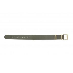 Timex klokkerem PW2P98500 Lær Taupe 18mm + søm beige