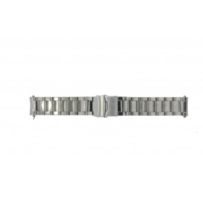 Klokkerem QQ22RHSHI Metall Sølv 22mm