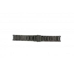 Klokkerem QQ24ZWR- Metall Antrasittgrå 24mm