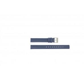 Rolf Cremer klokkerem Spirale III / Little Turn / Blue Lær Blå 12mm