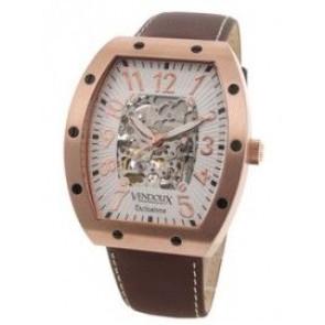 Vendoux klokke automatisk rosa LR 12912-02
