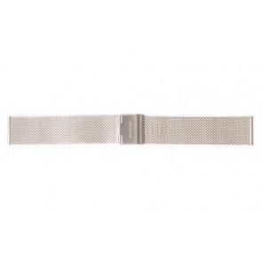 Mondaine klokkerem A669.30305.11SBM / 30305 / BM20062 / 30008 / 30305 / 30323  Metall Sølv 16mm