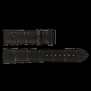 Certina klokkerem C610016931 Lær Brun mørk 20mm + søm brun