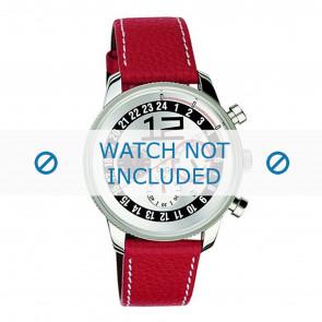 Dolce & Gabbana klokkerem 3719740276 Lær Rød + søm hvit