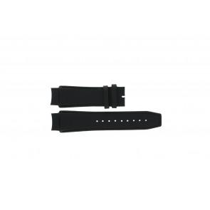 Dolce & Gabbana klokkerem 3719770097 Lær Svart 20mm + søm svart