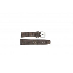 Festina klokkerem F16573/4 Lær Brun 23mm + søm brun