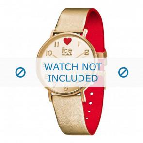 Ice Watch klokkerem 013376 Lær Gull 18mm