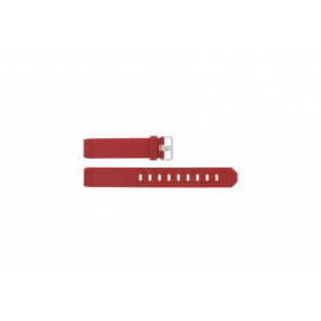 Jacob Jensen klokkerem 700 serie - 751 Gummi Rød 17mm