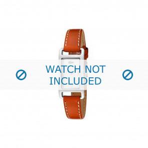 Lacoste klokkerem 2000310 / LC-05-3-14-0006 Lær Oransje 12mm + søm hvit