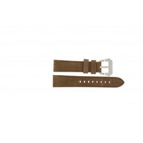 Max klokkerem BR / 20mm  Lær Brun 20mm + søm brun