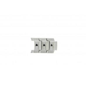 Fossil JR8142 Lenker Stål Sølv 20mm