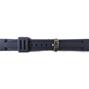 Klokkerem Gummi 26mm Blå PVK DS253