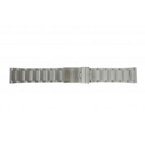 Klokkerem Y120-K63 Metall Sølv 24mm