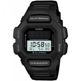 Klokkerem Casio HDD-S100 / W-S220 / 10395874 Gummi Svart 16mm