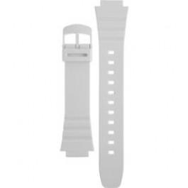Klokkerem Casio 10409325 / W-214HC-7AV Plast Hvit 16mm