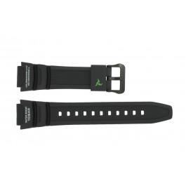 Klokkerem Casio SGW-450H-1A / 10500870 Plast Svart 18mm