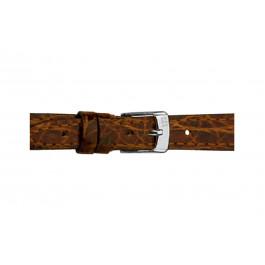 Morellato klokkerem Classico Cucito D2213052034DO08 / PMD034CLSCCU08 Krokodille skinn Brun mørk 8mm + standard sømmer