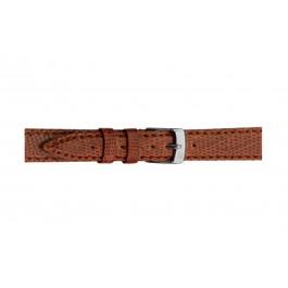 Morellato klokkerem Violino Gen.Lizard X2053372041CR10 / PMX041VIOLIN10 Lizard lær Brun lett 10mm + standard sømmer
