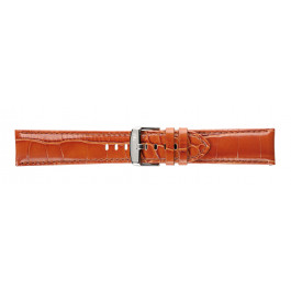 Morellato klokkerem Ypsilon X3555990041CR24 / PMX041YPSILN24 Krokodilleskinn Brun 24mm + standard sømmer