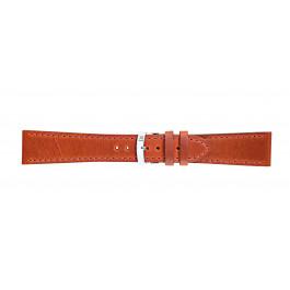 Morellato klokkerem Sportage X4471696086CR24 / PMX086SPORTA24 Glatt lær Oransje 24mm + standard sømmer