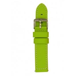 Klokkerem Davis B0263 Lær Grønn 24mm