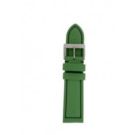 Klokkerem Davis BB1027G Lær Grønn 22mm