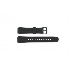 Klokkerem Casio 10134116 / AW-S90-1A / AW-S90 Plast Svart 18mm