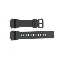 Klokkerem Casio W736H / W735H / AEQ-110 / AQ-S81 Gummi Svart 18mm