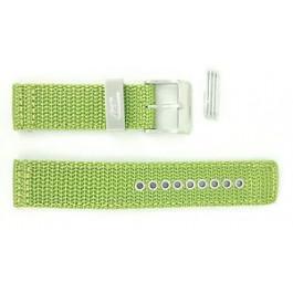 Diesel klokkerem DZ2051 Tekstil Grønn 21mm + søm grønn