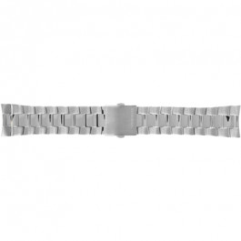 Diesel klokkerem DZ5271 Rustfritt stål Sølv 18mm