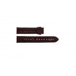 Klokkerem Festina F16021 / 4 Lær Bordeaux 18mm