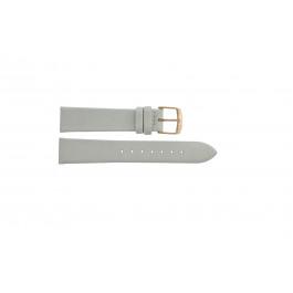 Klokkerem Festina F16944-1 Lær Hvit 18mm