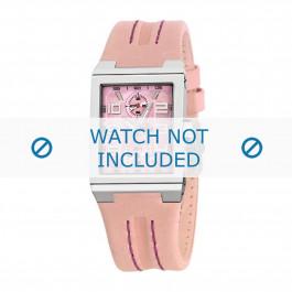 Festina klokkerem F16224-2 Lær Rosa 14mm + standard sømmer