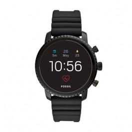 Fossil FTW4018 Q Explorist HR GEN 4 Digital Smartwatch Menn Svart
