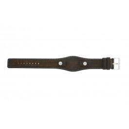 Klokkerem Fossil JR8130 Lær Brun 10mm