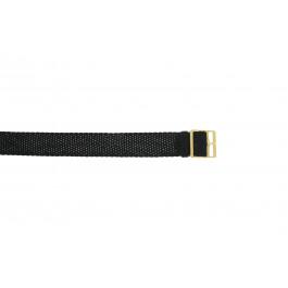 Klokkerem Universell PRLN.14 Nylon/perlon Svart 14mm