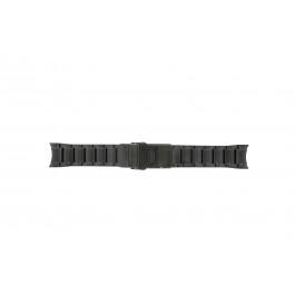 Seiko klokkerem V157-0AS0 Metall Svart 22mm