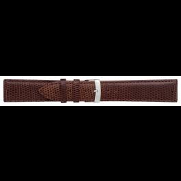 Morellato klokkerem Ibiza X3266773032CR12 / PMX032IBIZA12 Lizard lær Brun mørk 12mm + standard sømmer